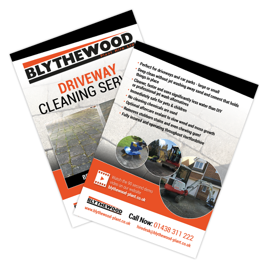 Driveway Cleaning Landing Page & Video